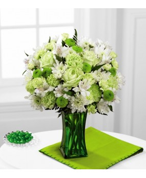 Bouquet lime lissiousa